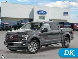 2016 Ford F-150 Lariat 502A Spec Ed!  w/Leather, Nav, Pano Roof!