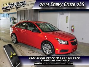 2014 Chevrolet Cruze 2LS  - $107.85 B/W
