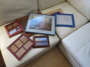 Picture frames and mattes