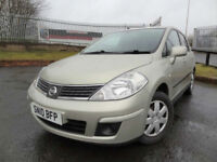2010 Nissan Tiida - ONLY 66000mls - KMT Cars