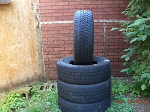 30x9.50R15 Goodyear Wrangler GSA tires (used)
