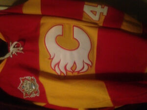 Heritage classic flames jersey
