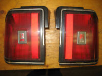 Two tail lights, Oldsmobile Cutlass Cierra