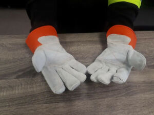 DOUBLE PALM WORK GLOVES !