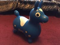 Inflatable Rody Hopping Horse