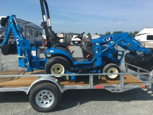 LS MT 122 TRACTOR PACKAGE WITH TRAILER!!