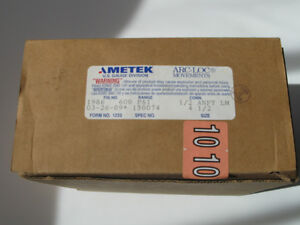 "AMETEK 4.5"" FACE 600 PSI INDUSTRIAL PRESSURE GAUGE Kitchener / Waterloo Kitchener Area image 2"