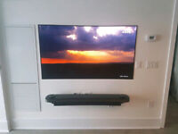 Professional TV Mounting $80