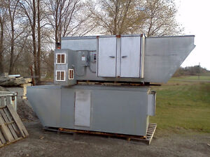 Spray Booth & Air Makeup extractor, air filtration, and more