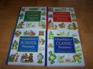 4 large FRANKLIN TREASURY hardcover books - Paulette Bourgeois