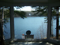 Titled Lake Front Cabin for sale at Little Amyot Lake