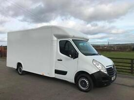 Vauxhall Movano F35 LOW LOADER LUTON BOX 125 CDTI 2016 (16) REG 1 CO OWNER