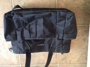 Diaper bag and booster seat