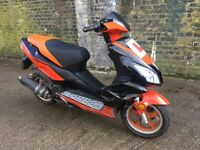 2013 Direct bike 50cc Lerner legal 50 cc With mot. Looks and runs good. Few scratches and scrapes.