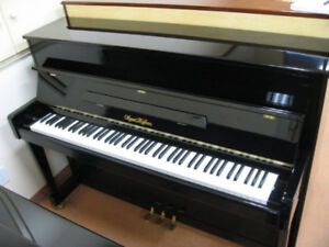 Used Upright Piano For Sale - August Hoffman  - Must See