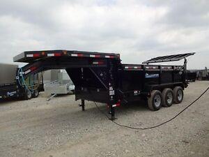2017 Load Trail Gooseneck Dump London Ontario image 9