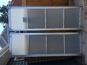 IKEA Pax Closet Glass  Sliding Door Set of 2