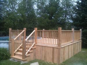 Post holes , Custom Fences and Decks
