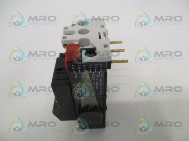 DANFOSS TI16C THERMAL OVERLOAD RELAY 1.8-2.8/3.2-4.8A * USED *