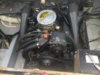 4.3 omc 4 brrl carb engine. Fully dressed drop in