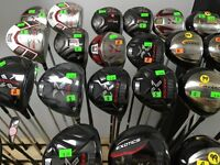 EXOTICS SALE drs fwy wds hybirds irons Right  Lefty Ladies SALE