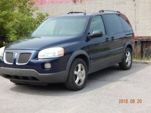2006 Pontiac Montana Minivan, E Tested Reliable Minivan