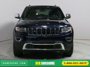 2016 Jeep Grand Cherokee LIMITED 4X4 TOIT CUIR BLUETOOTH MAGS