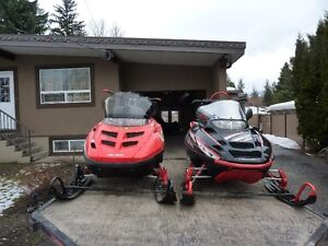 2 Sleds and Trailer for Sale Revelstoke British Columbia image 3