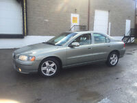 2007 VOLVO S60 2.5T SPORT | AWD | CARPROOF AVAILABLE!