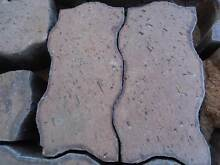 Recycled CLAY pavers, interlocking. on pallets Adelaide CBD Adelaide City Preview