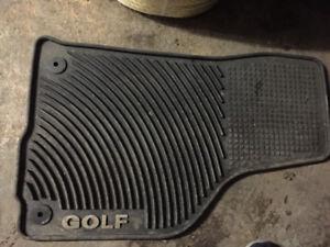 VW winter floor mats