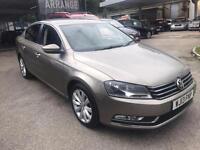 Volkswagen Passat 1.6TDI ( 105ps ) BlueMotion Tech ( s/s ) Highline -2013 13-REG