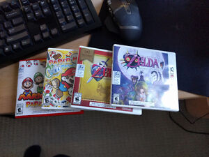Selling my 3DS Games: Paper Mario, Zelda Ocarina and Majora