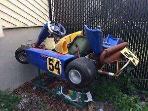 Go-Kart Red Baron Rotax Jr