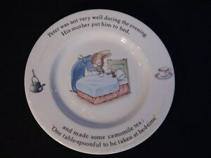 Wedgwood Peter Rabbit Plate London Ontario image 1