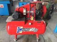 Compresseur Webster 1-1/2hp industriel  60 gallons