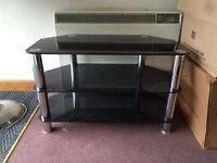 Glass TVs stand
