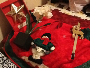 Assorted Christmas items - $10 for the lot obo