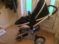 Slivercross surf travel system