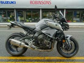 2017 Yamaha MT10 in grey with nice extras.