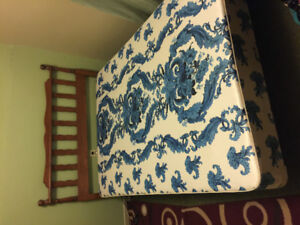 Double box spring and frame