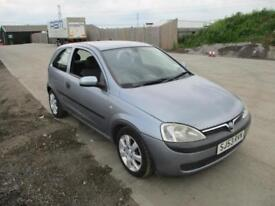 2003 Vauxhall Corsa C 1.2i 16v Club Petrol Manual Spares or Repair Cheap