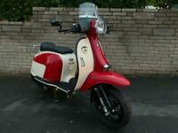 Scomadi TT 125 automatic scooter 68 reg