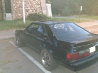 1992 Ford Mustang Hatchback - trade for motorcycle