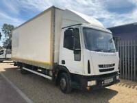 Iveco Eurocargo 75E16s 3.9 160bhp 22ft Box Lorry - Cantilever Tail Lift 7.5 Ton