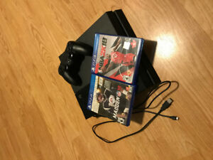 PS4 with Madden 18 and NBA2K18