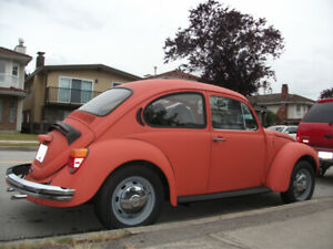1973 VW Super Beetle Auto-Matic - $8500