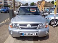 BAD CREDIT CAR FINANCE 2006 56 MITSUBISHI SHOGUN 3.2 DID ELEGANCE AUTO