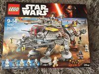 Lego Star Wars Captain Rex's AT-TE BNIB
