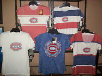 NEW : WOMENS MONTREAL CANADIENS NHL T-SHIRT ALL SIZES City of Montréal Greater Montréal Preview